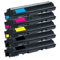 5 Pk TN221 TN225 Toner Cartridge For MFC-9130CW MFC-9330CDW MFC-9340CDW