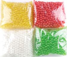 Round Hard Fishing Tackle Rigging Beads (size: 8mm, qty: 1000pcs)