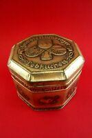 alte Gebrüder Seim Blechdose Nürnberger Lebkuchen Schokolade Waffel Sammlerstück