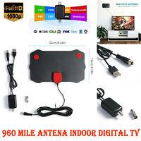 960 Mile Range Antenna TV Digital 1080P HD Skywire 4K Antena Digital Indoor HDTV