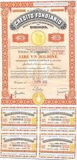 8932) CREDITO FONDIARIO CASSA DI RISPARMIO IN BOLOGNA 1970, CARTELLA DA 1000000.
