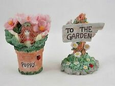 Flutter Blossom Family, Set of 2, Garden Figurines - Limited Editions