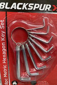 Allen Key Set Hex Keys Set 8 pcs Metric Hexagon Keys Set Alan Keys Set Hand Tool