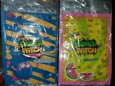 25 Stoney Stoner Patch Blueberry/Watermelon Mylar Resealable Smell Proof Bags