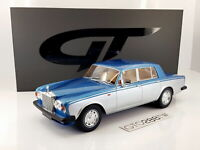 GT Spirit 1:18 scale Rolls-Royce Silver Shadow II - Aqua Blue/Silver(LE.999)