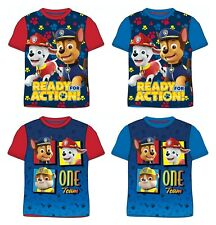 Nickelodeon Paw Patrol Boys Long Sleeve Top T-Shirt 100/% Cotton age 4 years NEW