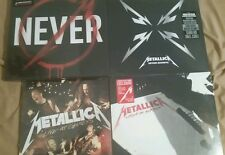 "Metallica Record Store Day Bundle,5X12"",2X10"",new,mint,RSD,OOP,Colored vinyl"