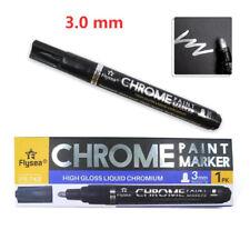 Silver Marker Diy Paint Mirror Chrome Finish Water Uv Resistent Craftwork Pfe