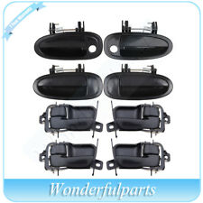 8Pcs Door handles Inside Outside Front Rear Left Right for 97-99 Toyota Avalon