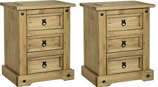 Corona Pine 66cm-70cm Height Bedside Tables & Cabinets