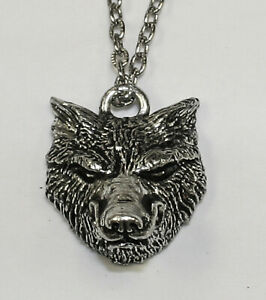 Alchemy Gothic Woden's Wolf Pendant Necklace P153