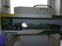 Oxford Cararama CR006 CR006L 1/50 Scale Volvo FH Low Loader JB Rawcliffe Green