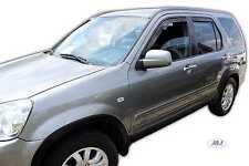 DHO17117 Honda Crv 2001 -2006 wind deflectors visors 5door 4pc set TINTED HEKO