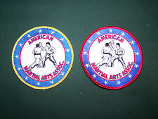 American Matial Art Assoc. Embr. Patch  (Karate patch)