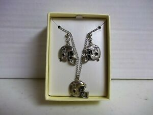 DALLAS COWBOYS NECKLACE & EARRINGS JEWELRY SET NFL FOOTBALL