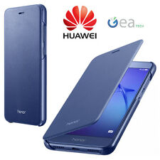 Flip Cover ORIGINALE HUAWEI Per Honor 8 Lite Custodia Case Slim in Pelle BLU