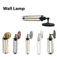 Vintage Sconce E27 Industrial Edison Wall Loft Retro Lamp Light