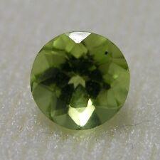 Echter Grüner Runder Peridot 3.0mm