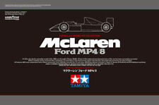 Tamiya 25172 1/20 McLAREN FORD MP4/8 Special Black Box Limited Ver. from Japan