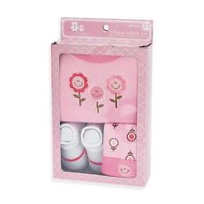 Crib Mates 3 Piece Infant Set- Pink