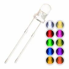 Leuchtdioden LEDs 3mm 5mm sehr hell verschiedene Farben