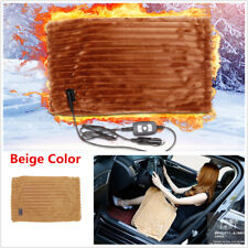 12V Winter Car Electric Heating Blanket Seat Cover Pad Mat For Outdoor Traveling