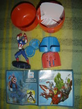 KINDER FERRERO MAXI SURPRISE 2016 CAPTAIN AMERICA MARVEL AVENGERS