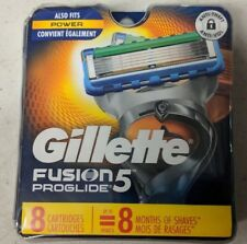 NEW Genuine Gillette Fusion 5 ProGlide Razor Blade Refills for Men, 8 Count
