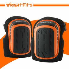 WrightFits Gel Cushions Knee Pads - Black/Orange (WW020805)