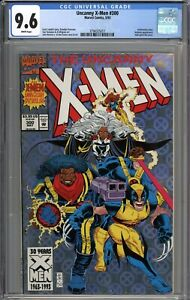 Uncanny X-Men #300 CGC 9.6 NM+ Anniversary Issue WHITE PAGES