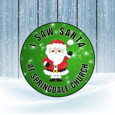 Regalos presenta Monedas De Chocolate Santa Papá Noel 24 X 45mm ronda de pegatinas