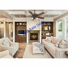 Casablanca 54006 Ainsworth Gallery 54-Inch 5-Blade 3-Light Ceiling Fan Walnut 54