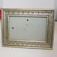Victorian Ornate Gilt Gold Wood Picture Frame  5.75 x3.75""