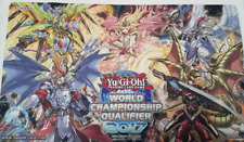 YUGIOH WCQ 2017 TOP CUT PLAYMAT DRACOSLAYER MASTER PEACE DINOMIGHT IGNIS HEAT