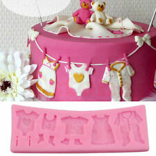 3D Baby Shower Silicone Fondant Mould Chocolate Baking Cake Decorating Mold Tool