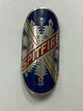 new old stock vintage bicycle Schwinn SPITFIRE oval head BADGE aluminum