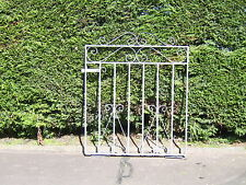 Wrought iron garden gate galvanized 3 ft high for 4 ft opening free fittings R/H