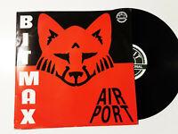 """Bit-Max – Airport   - Disco Mix 12"""" Vinile ITALIA 1992"""