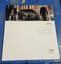 2016 Cadillac ATS sales brochure dealer literature