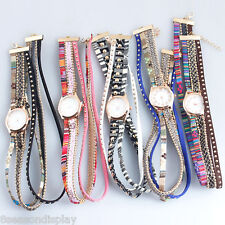 FL1PC New Fashion Quartz DIY Multilayer Bracelet Watch For Women