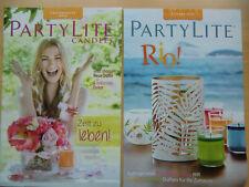 Partylite Hauptkatalog Katalog Sommer 2016 für Sammler !!! NEU