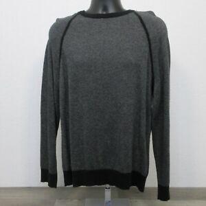 Banana Republic Sweatshirt Size Large Cotton Cashmere Pullover Sweater Gray
