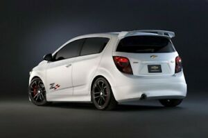FIT CHEVROLET SONIC HATCHBACK 2013-2016 ROOF SPOILER WING RAW UNPAINTED