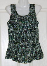 NWT Womens size 8 cute peplum top made by ROCKMANS