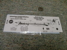 Liveries Unlimited  decals 1/144 A4-078 Midway fokker 100    C87