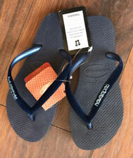 Havaianas Slim Velvet Marinho Flip Flops in size 33/34