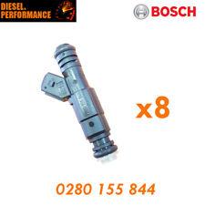 8X FUEL INJECTORS TO SUIT 91-02 FORD FALCON EB-EL XR8 5.0 Bosch 0280 155 844