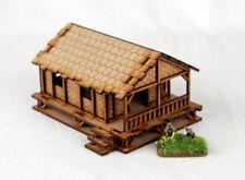 Far East ou Jungle Tissé Palm style maison de village Low 15 mm Laser Cut MDF K504