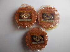 Yankee Candle USA Deerfield Chocolate Truffle Wax Tarts x 3