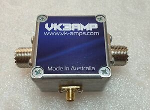 -55 db RF Sampler 2KW 1.8Mhz - 80Mhz SO-239 Connectors